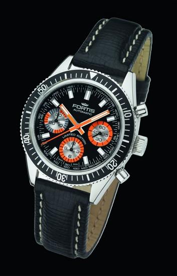 192e8c5ab VINTAGE Marinemaster limitovaná edice | 02. 03. 2012. První vodotěsné  hodinky představil Fortis ...