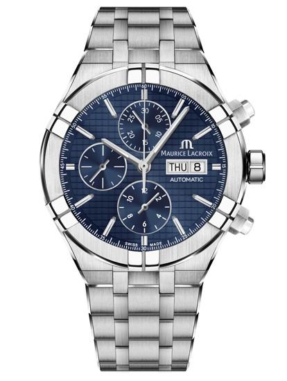 d09b7b669 Světovou premiéru letos zažil Aikon Chronograph Automatic! Sportovně  elegantní automat s typickou originální lunetou, díky které jsou hodinky na  zápěstí ...